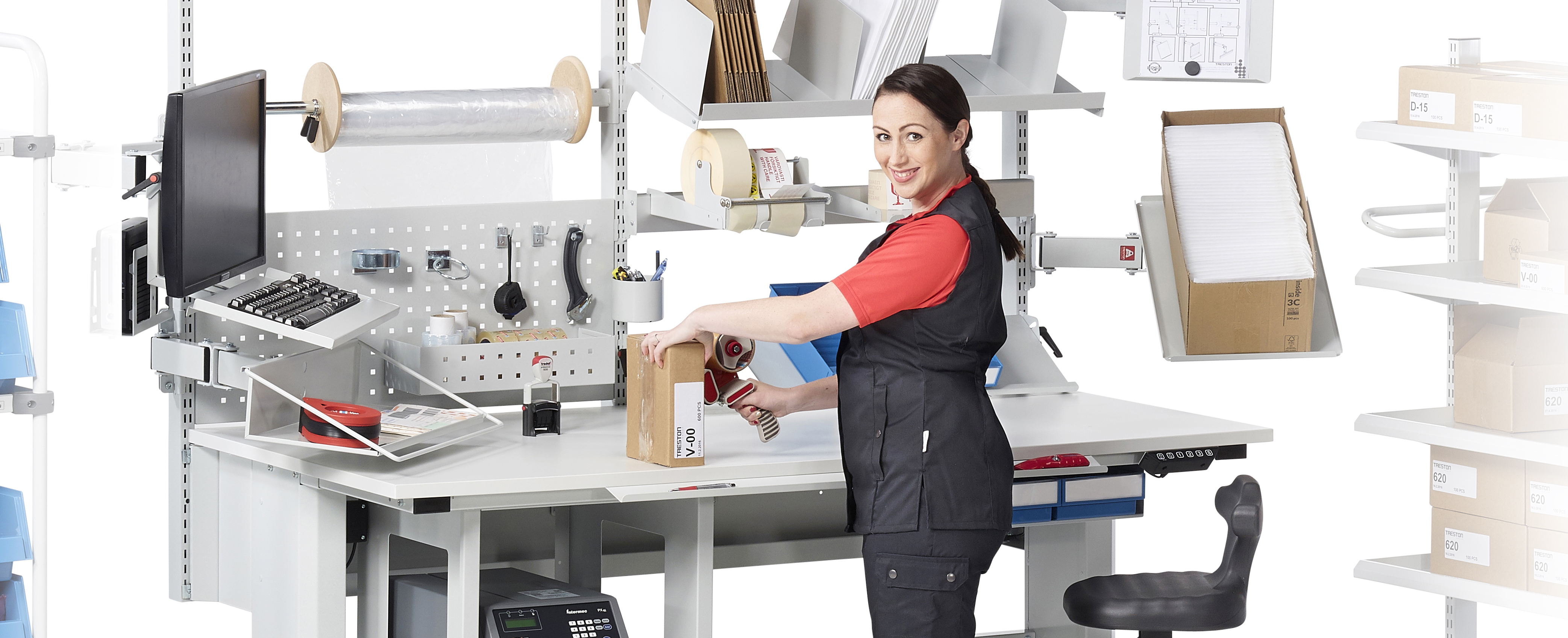 How to Create a Productive Packing Station with Treston, Download your eBook now