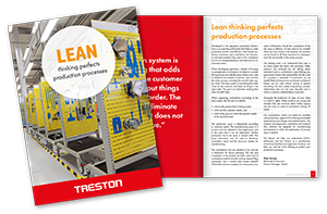 Download the Treston LEAN Production Process eBook now – Fill out our Form)