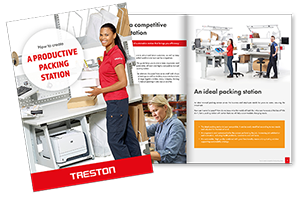 How to Create a Productive Packing Station eBook from Treston, Download Your Copy Today