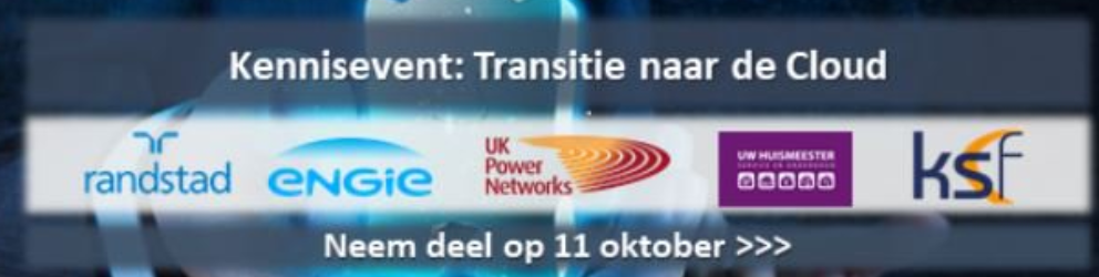 Kennisevent Transitie naar de Cloud