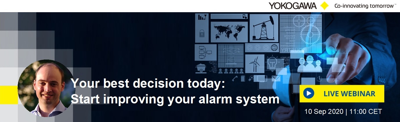 Webinar Your best decision today: start improving your alarm system