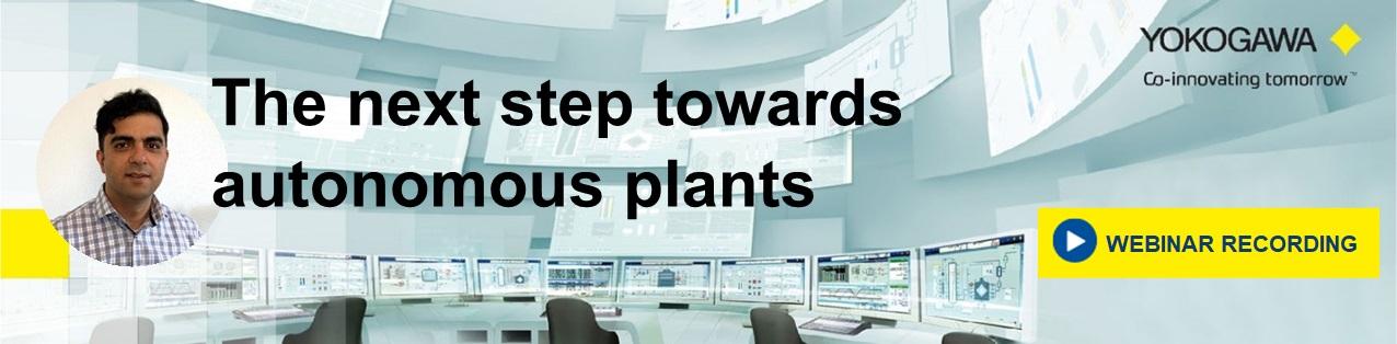 Webinar The next step towards autonomous plants