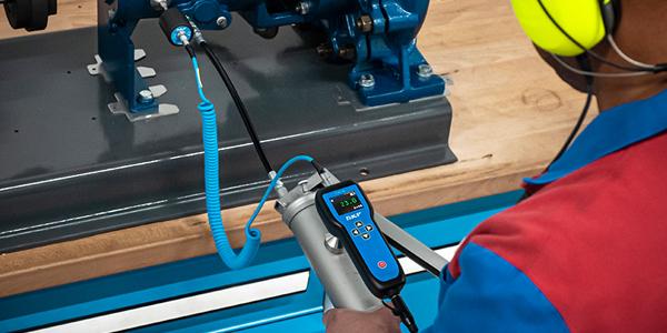 SKF Ultrasonic sensor improves maintenance practices when re-lubricating bearings