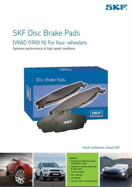 4W Disk Brake Pads