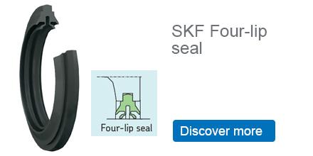 SKF Four lip seal