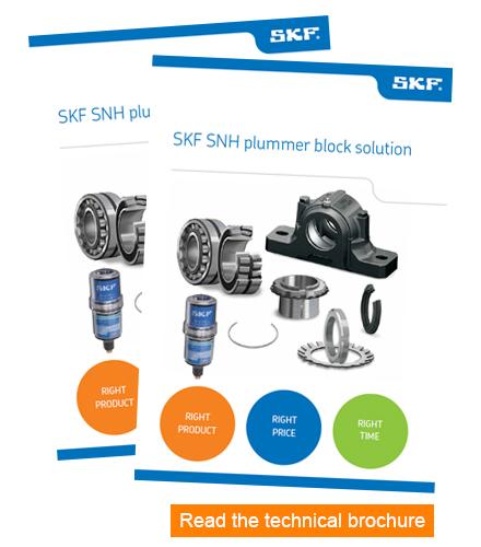SKF SNH Plummer block solution - Flyer