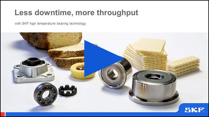 Less downtime, more throughput with SKF high temperature bearing technology