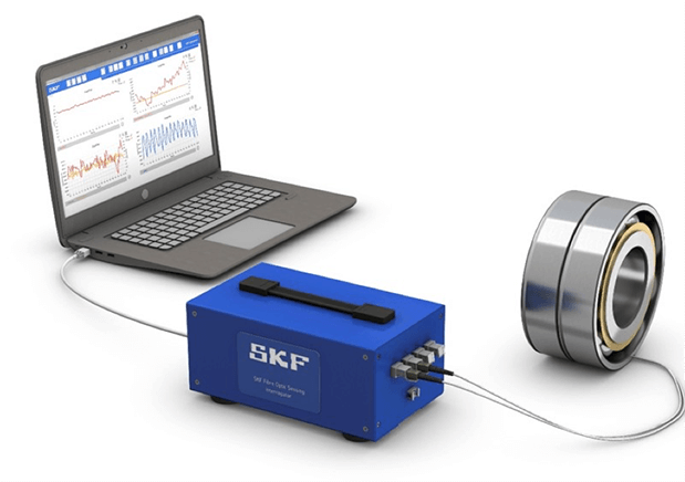 SKF Load Sensing Bearings for pumps and compressors