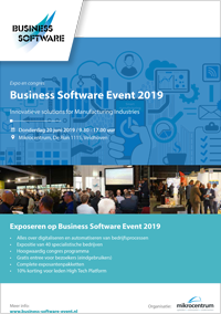 Brochure Business Software Event